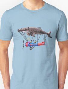 Imagine Whales Unisex T-Shirt
