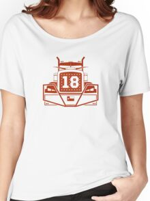 "Tyrone Swoopes ""18-wheeler"" shirt/case Texas  Women's Relaxed Fit T-Shirt"