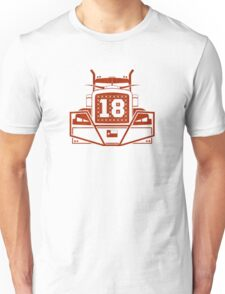 "Tyrone Swoopes ""18-wheeler"" shirt/case Texas  Unisex T-Shirt"