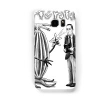 HP Lovecraft and Elder Thing Samsung Galaxy Case/Skin