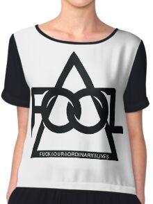 F.O.O.L Music Chiffon Top