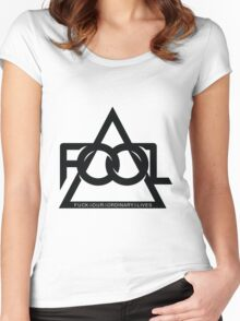 F.O.O.L Music Women's Fitted Scoop T-Shirt