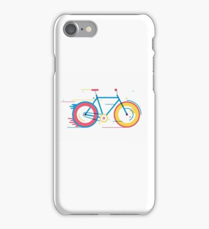 Unisex Bicycle Illustration iPhone Case/Skin
