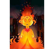 Flame Princess Photographic Print