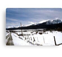 Colorado Mtns Canvas Print