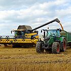 Modern Day Harvest by Barrie Woodward