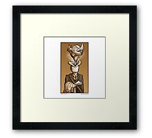 Coffee Monster Framed Print