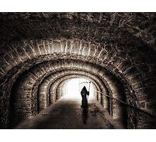 Grim Reaper Tunnel Photographic Print