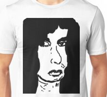 late 80's glam metal drummer from hair band Unisex T-Shirt