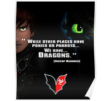 How to train you Dragon Poster