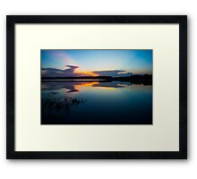 Blue Sky and Water  Framed Print
