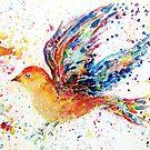Wings III - Birds in Flight Series by Robin Monroe