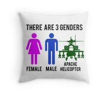 Genders Throw Pillow