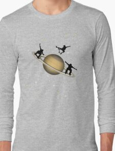 Skateboarding Saturn Long Sleeve T-Shirt