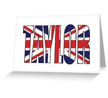 Taylor (UK) Greeting Card