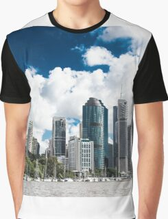 Brisbane from the River Graphic T-Shirt