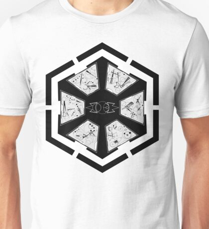 The Sith Code in Sherman's Circular Gallifreyan Unisex T-Shirt