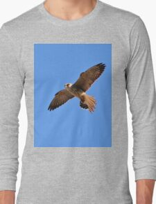 Greater Kestrel - Macky's African Wings Long Sleeve T-Shirt