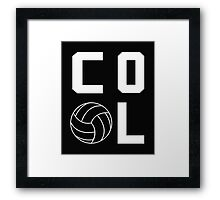 Volleyball Love Sports  Framed Print
