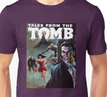 Vampires, Werewolves, Women, and Dinosaurs - Eerie Publications - Textless cover #4 Unisex T-Shirt