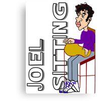 Joel Sitting Canvas Print
