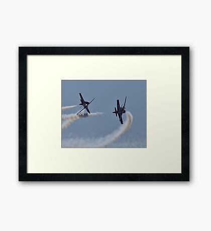 SNOWBIRDS - CROSSING PATHS Framed Print