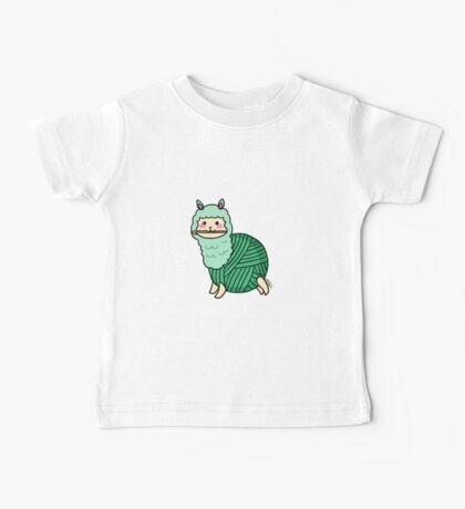 Yarn Alpaca - Green Baby Tee