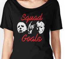 Horror Icons Squad Goals Women's Relaxed Fit T-Shirt