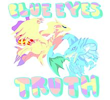 Blue Eye's Truth Photographic Print