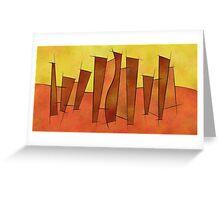 Siangonissa V1 - falling leaves Greeting Card