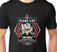 Black Oak - Roadie Retirement Center Unisex T-Shirt