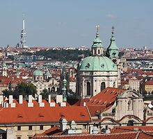 Prague St. Nicholas Church by Elena Skvortsova