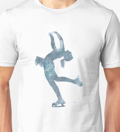 Ice Skater Nebula 2 Unisex T-Shirt