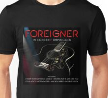 NEW POSTER TOUR FOREIGNER UNPLUGED Unisex T-Shirt