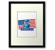 Harambe Framed Print