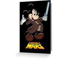 Disney Wars Greeting Card