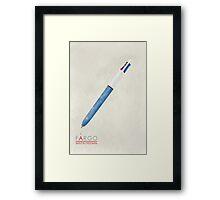 Fargo Pen of Lester Nygaard Framed Print