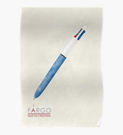 Fargo Pen of Lester Nygaard Poster