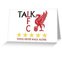 TALK LFC Collection Greeting Card