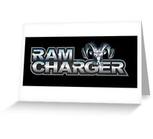Ram Charger Greeting Card