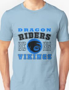 How to train you Dragon (Dragon Riders Black) Unisex T-Shirt