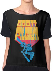 Scott pilgrim Chiffon Top