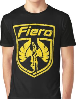 Pontiac Fiero 2 Graphic T-Shirt