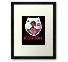 Kissabull Framed Print