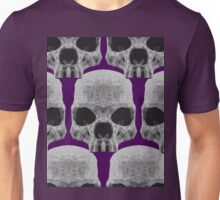 purple skulls  Unisex T-Shirt