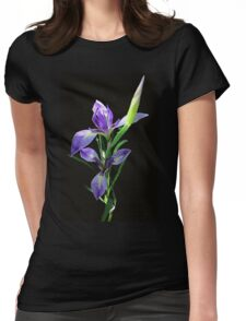 Spring Waterlily Womens Fitted T-Shirt