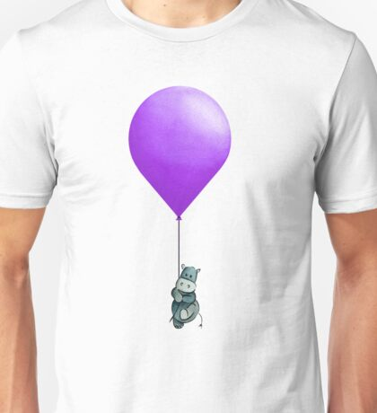 Purple Balloon  Unisex T-Shirt