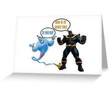 Genies Make Everything Better Greeting Card