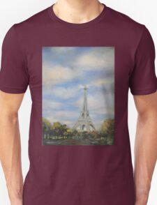 Eifel Tower, oil on canvas Unisex T-Shirt