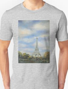 Eifel Tower, oil on canvas Unisex T-Shirt